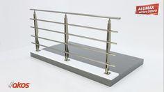 Akos - Alumax DD100 Series Aluminium Railing Installation