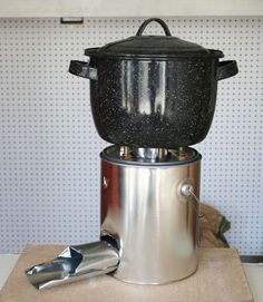 Rocket stoves cook food with small pieces of wood efficiently and with much less smoke than & Ecozoom Rocket Stove - Portable Cooking with Multiple Fuels ...
