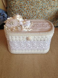 Gorgeous Altered Box. Crafted by Juana Huson.