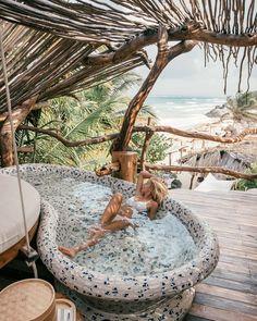 "Gefällt 11 Tsd. Mal, 88 Kommentare - Swimwear on Show® (@swimwearonshow) auf Instagram: ""If only everyday could be like this @azuliktulum @travel_inhershoes"""