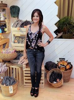 Lucy hale fashion and style 58