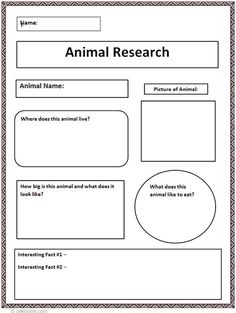 Computer lab: Common Core Animal Research Graphic Organizer Teaching Writing, Teaching Science, Writing Activities, Teaching Resources, Kindergarten Writing, Science Writing, Geography Activities, Teaching Social Studies, Teaching Tools