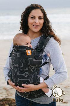 (Standard Size) Full Wrap Conversion Tula Baby Carrier - KoKadi Poe