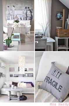   NIB - Norske interiørblogger Living Room Decor, Dining Room, Interior Inspiration, Curtains, Table Decorations, Wood, Furniture, Home Decor, Nice