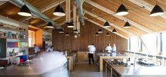 satellit architects river cottage cookery school
