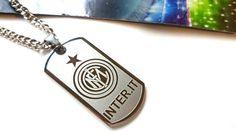 Inter Milan Seria A Italy FootBall Necklace