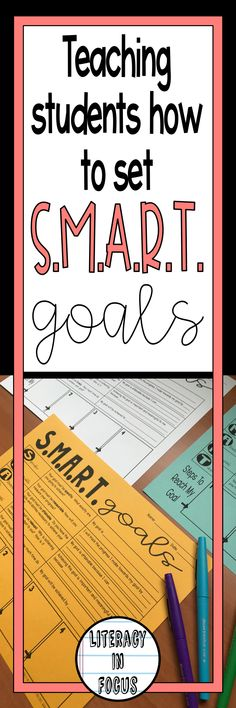 how to set smart goals for students