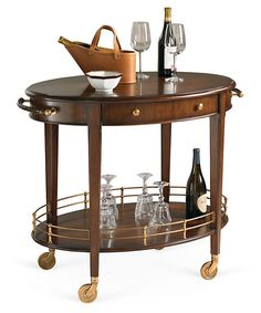 For the dining room. One Kings Lane - Raise the Bar - Ackerman Serving Cart