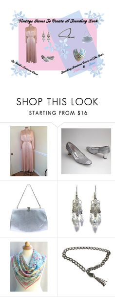 """""""Vintage Items To Create A Trending Look"""" by heidi-calamia-galati ❤ liked on Polyvore featuring vintage, PhotoChallenge, vintagejewelry, vintagefashion and teamlove"""