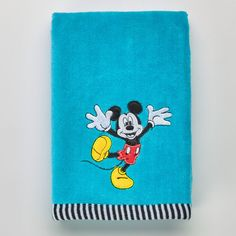 Disney's Mickey Mouse Applique Hand Towel by Jumping Beans®, Multicolor
