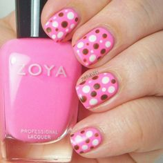 Nail Art with Zoya Tickled Collection