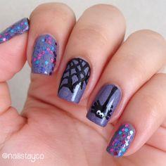 Halloween Nail Art #ManisdeHalloween: Araña Spider