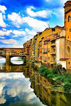The view towards Ponte Vecchio in Florence, Italy [Photo: Simon Marlow] #ItalyPhotography