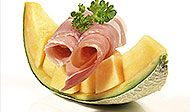 Studené předkrmy, snídaně, večeře Honeydew, Cantaloupe, Chorizo, Pineapple, Menu, Fruit, Kitchens, Fine Dining, Menu Board Design