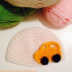 Uncinetto Facile Facile: Cappellino per Neonato