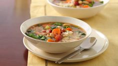 Italian Bean Soup with Greens