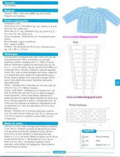 casaquinho | Receitas do Croche Croche!