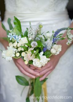 lovely small wedding bouquet of scabious and veronicas.(not the kind of blooms that will be out, but an idea of how smaller can be beautiful) Simple Wedding Bouquets, Flower Bouquet Wedding, Simple Weddings, Floral Wedding, Rustic Wedding, Our Wedding, Dream Wedding, Perfect Wedding, Wedding Ceremony