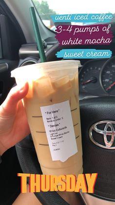Starbucks Specialty Drinks, Starbucks Hacks, Healthy Starbucks Drinks, Starbucks Secret Menu Drinks, Starbucks Coffee, Healthy Drinks, Coffee Drink Recipes, Coffee Drinks, Iced Coffee
