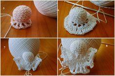 Best 11 U Kathryn : Szydełkowy anioł (wzór)/Crochet angel pattern a photo tutorial for making a crochet christmas angel ornament – SkillOfKing. Crochet Ornaments, Crochet Snowflakes, Handmade Ornaments, Crochet Angel Pattern, Crochet Angels, Crochet Hats, Christmas Angel Ornaments, Christmas Decorations, Crochet Dreamcatcher
