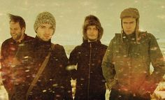 Sigur-Ros, a progressive, ambient rock band from Iceland. I've tried to learn Icelandic to sing along, but in recent years they've created a fictitious language, Hopelandic, which they use in many of their new songs. Whomp, whomp.