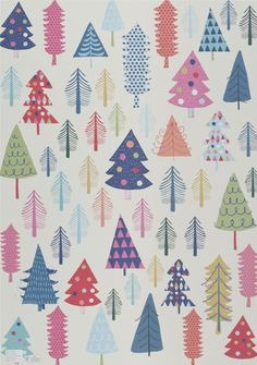Sheet of wrapping paper.  Design by Sara Brezzi  Designed and printed in Italy on Crush paper by Favini.  Size 48x68 cm