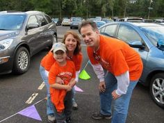 Maryann and Pat Craft with son Jack at the 2011 Jack's 5k Run/Walk for Children with Apraxia of Speech at Duke Island Park in Bridgewater.