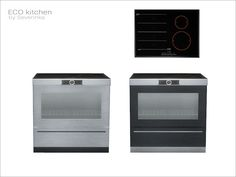 Kitchen stove for island counter  Found in TSR Category 'Sims 4 Large Appliances'