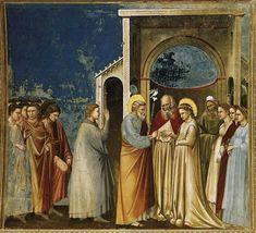 Giotto, Sposalizio della Vergine (1303-1305) Cappella degli Scrovegni, Padova