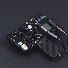 Seymourpowell / Move, Wear, Link and Play / The Play / Concept / Portable Audio Production Tool / 2016
