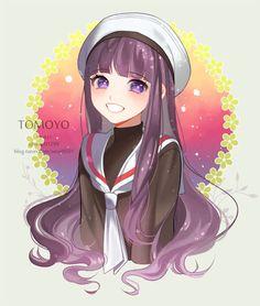 Este fan art de Tomoyo es hermoso!! Me encantó