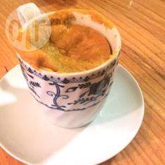 Mug cake au potiron sans gluten ni lactose @ allrecipes.fr