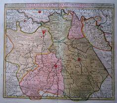 Noord-Brabant; Isaak Tirion - Nieuwe kaart van de Meiery van 's Hertogenbosch en de Heerlykheden van Grave en Kuik - ca. 1745  EUR 1.00  Meer informatie