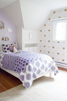 A Young Girls Lavender Bedroom | Apartment Therapy