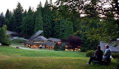 Dale Chihuly's prestigious Pilchuck Glass School, Stanwood, WA, Pacific Northwest