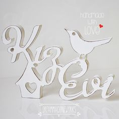 Kız evi ( Girl home, coquetry home ) wooden letters wedding sign www.dreammachineworks.com
