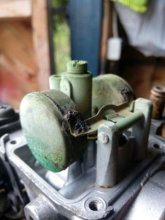 The before of the intruder carb #barnfind