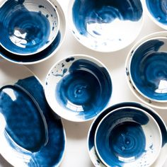 Set a Beautiful Table: Every meal is special with this watercolor tableware by Suite One Studio.