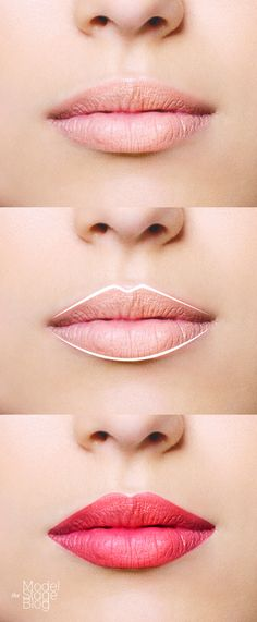 How to perfectly apply lip liner on shapeless lips