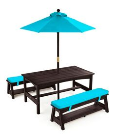 Thomas Is Definitely Gonna Have To Have One Of These! KidKraft Outdoor Table  And Chair For Kids Small Patio Lounge Children Furniture | Oh Baby!