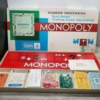 Vintage Parker Brothers Monopoly Board Game 1961 Mostly Sealed Contents Board Games Vintage Board Games Games