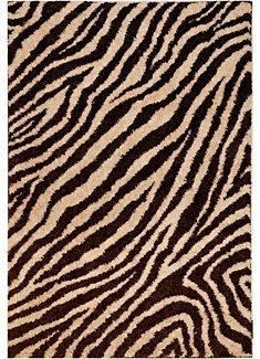 Brookfield Zebra Rug from the American Rug Craftsmen collection. This rug collection is perfect for high traffic areas, active families and offers supreme softness. #ZebraPrint
