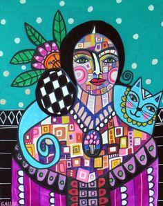 Frida Kahlo by Heather Galler