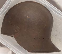 Medieval Helmets, 15th Century, Armour, Baseball Hats, Baseball Caps, Body Armor, Caps Hats, Baseball Cap, Snapback Hats