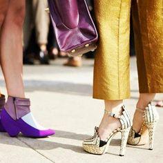 Purple booties <3