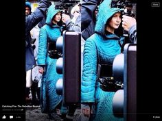 Filming mockingjay