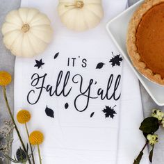 Happy Fall Y'all! Autumn season is just around the corner and our vintage kitchen towels make the cutest decoration for Fall. They are the perfect alternative to paper towels - simply wash and reuse! These tea towels make great Mother's Day, housewarming, birthday, wedding and bridal shower gifts. Get ready fall, autumn and Thanksgiving and embellish your kitchen with these adorable dish towels! #cottonandcanvasco #teatowel #fall #autumn #giftideas #kitchen #giftsforher #foodie #homedecor