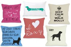 Super CUTE Personalized Pet-Themed Pillows for Cat and Dog Lovers!