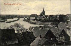 Havelburg Havelberg Sachsen-Anhalt 1915 Blick vom Dom Bahnpost Glöwen gelaufen   eBay