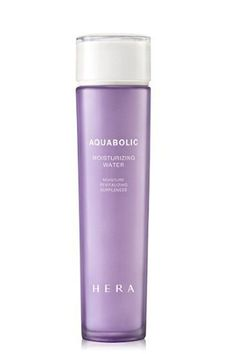 Hera Acquabolic Moisturizing Water is one of the hottest beauty kids on the Korean block. A toner made with lecithin (we thought you could only add the granules to smoothies) and Lamella crystal to actually strengthen skin cells. How major is that! #refinery29 http://www.refinery29.com/international-best-selling-beauty-products#slide-27